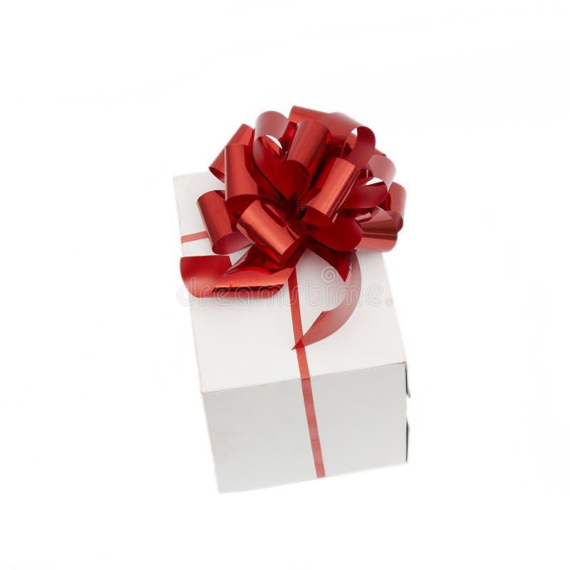 Sombrero Y Regalo De Santa Imagen de archivo libre de regalías