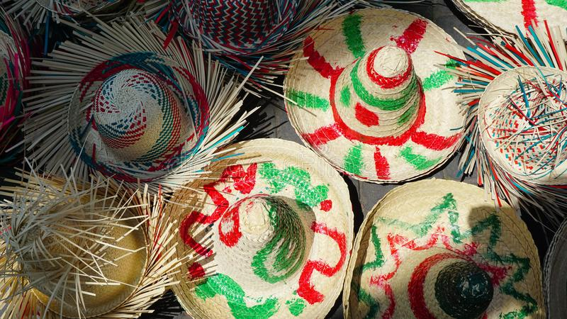 sombreros royalty-vrije stock afbeeldingen