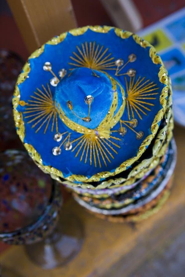 Download Sombreros De Feltro Da Miniatura Imagem de Stock - Imagem de méxico, presentes: 12810857