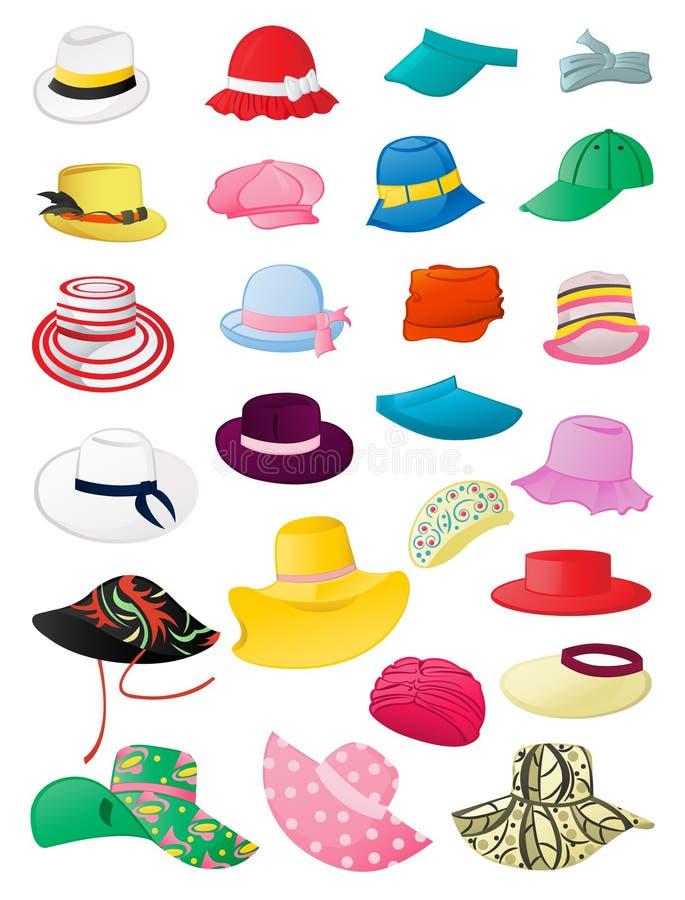 Sombreros del verano libre illustration