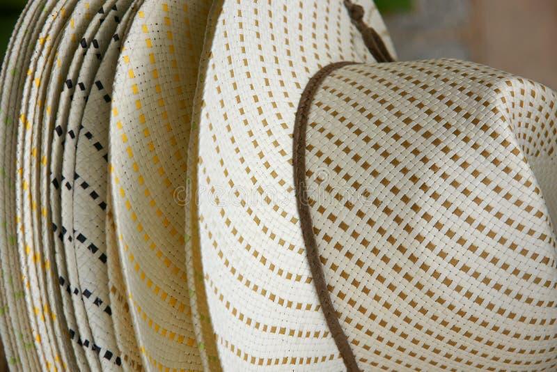 Sombreros Españoles Del Sombrero De Ala Foto de archivo libre de regalías