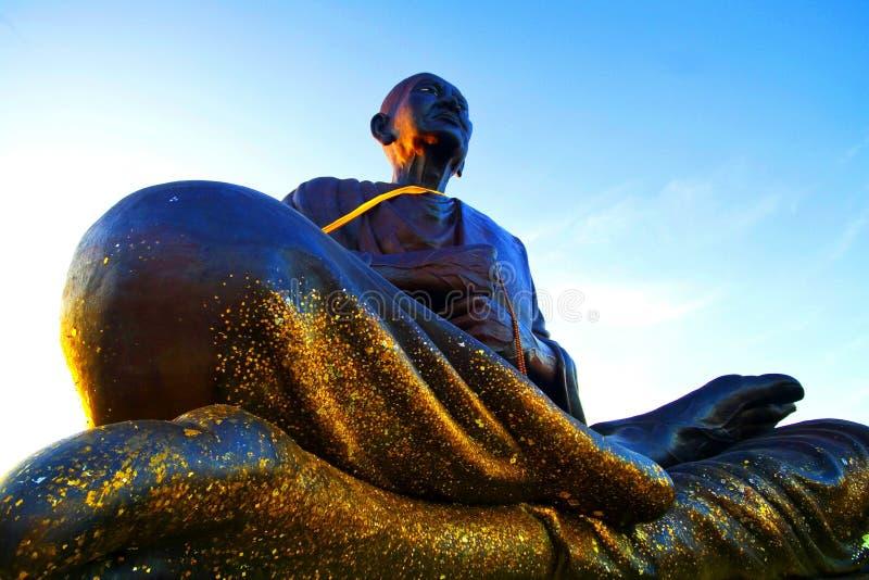 Somdajto grand Buddah en Thaïlande photos stock