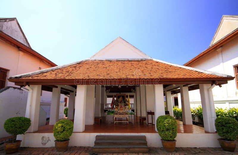 Somdet phra narai national museum stock image