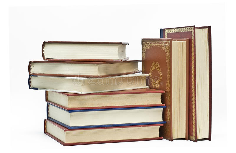 Download Some Books To Look For Information. Royalty Free Stock Photos - Image: 13369018