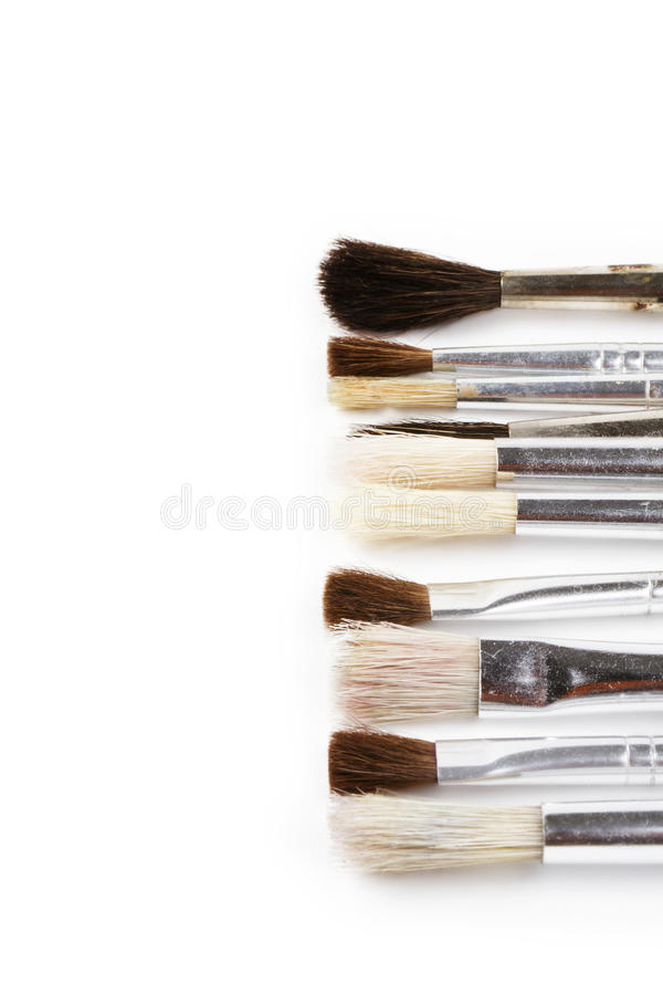 Some Brushes From Right Royalty Free Stock Photography