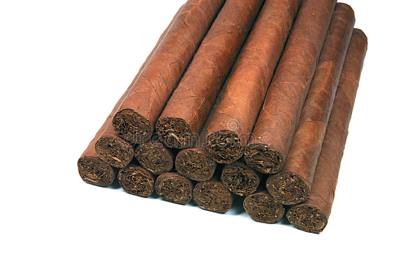 Some cigars stock photography