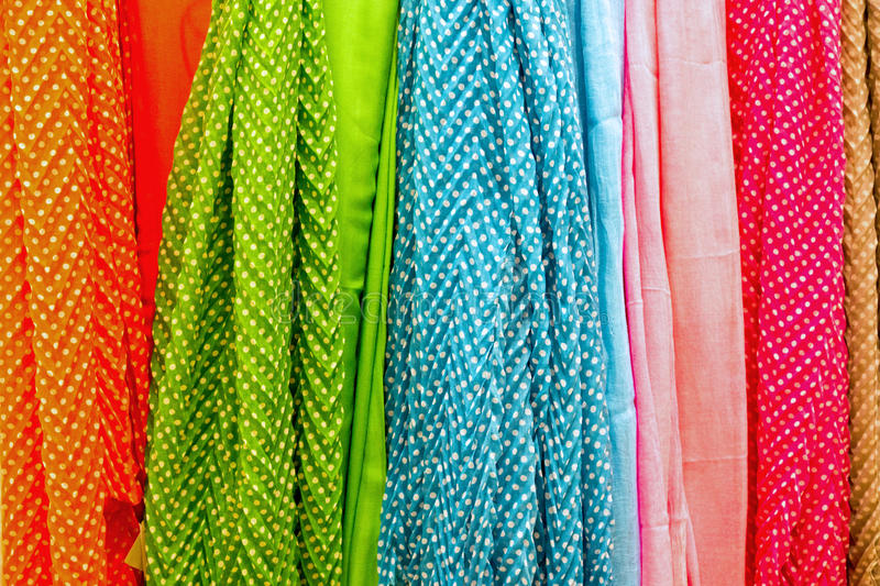 Download Colourful drapery stock photo. Image of store, material - 29815606