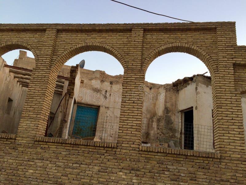 Erbil citadel stock photo