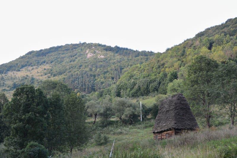 Muntii trascau. Some old cottage in Muntii Trascau royalty free stock photography