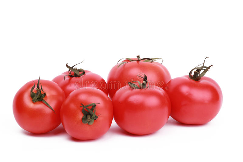 Some red tomatoes