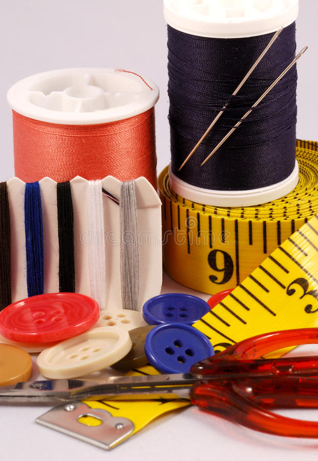 Download Some sewing tools stock image. Image of tailors, supplies - 15596575