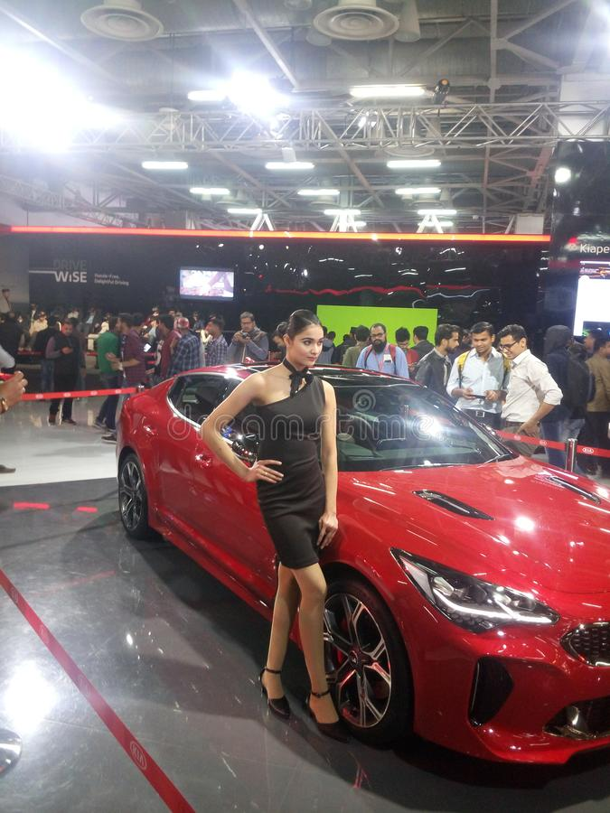 Imported pictures @ Expo mart ,greater noida, India 2018. These are some vehicles pictures took at expo mart 2018 funtion at greater Noida, India stock photography