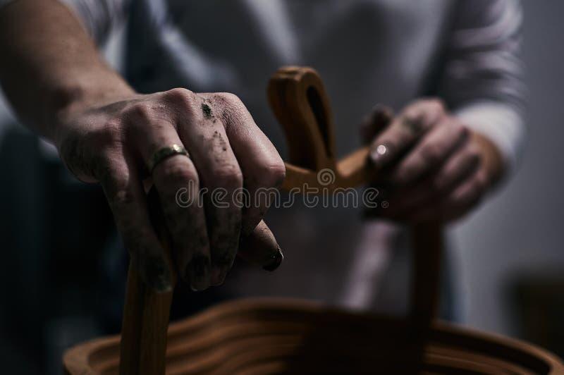 Somente mãos fotos de stock