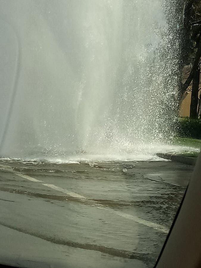 Someone uderza hydrant obrazy royalty free