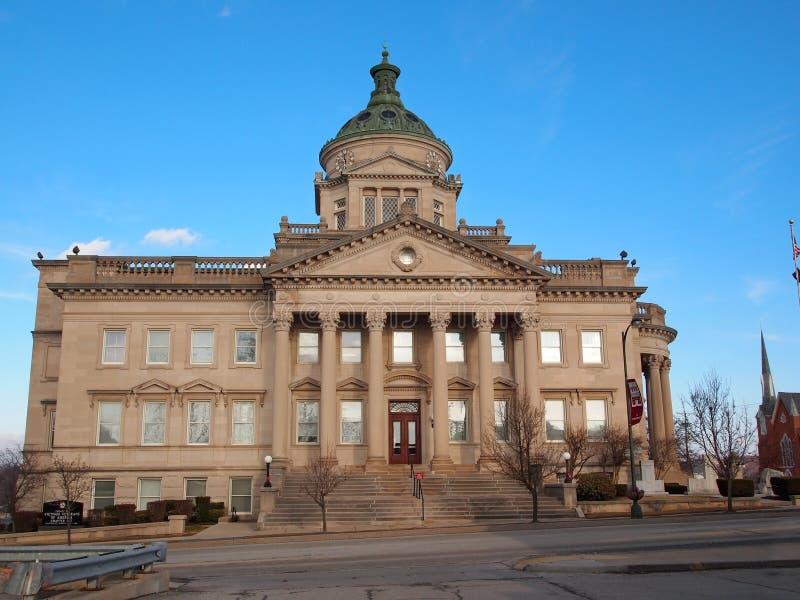 Somerset County Pennsylvania Courthouse images libres de droits