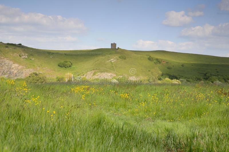 Somerset krajobraz obrazy stock