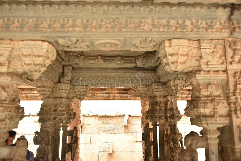 Someshwara świątynia, Kolar, Karnataka, India obrazy royalty free