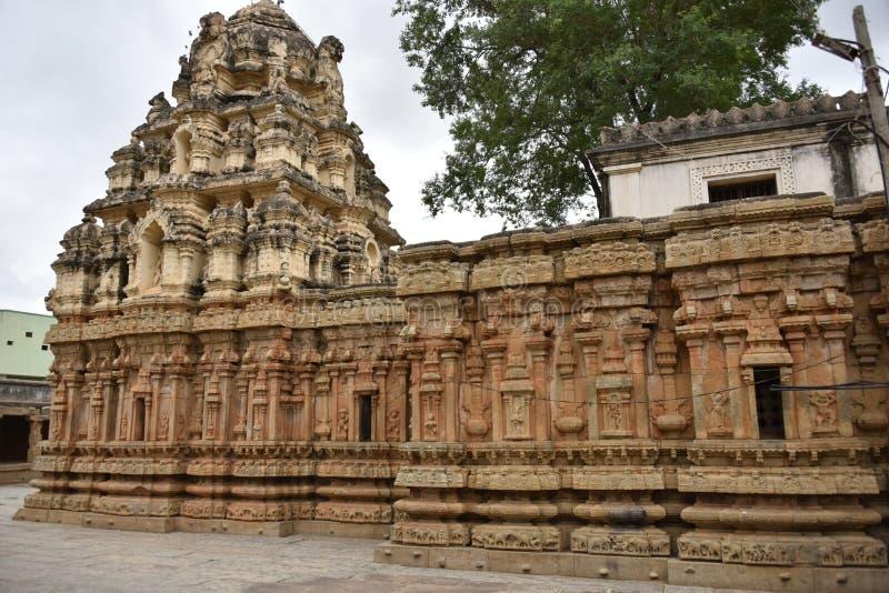Someshwara Temple, Kolar, Karnataka, INdia. 14th century Vijayanagara era Dravidian style temple royalty free stock images