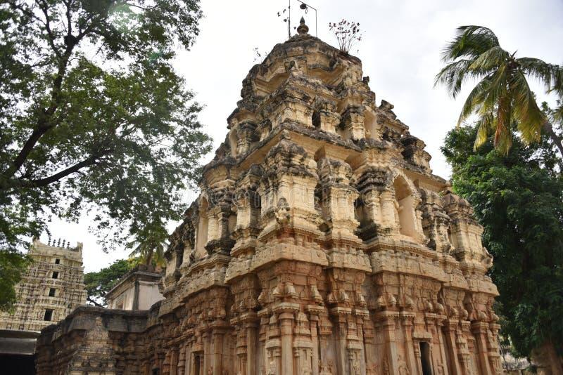 Someshwara Temple, Kolar, Karnataka, INdia. 14th century Vijayanagara era Dravidian style temple stock image