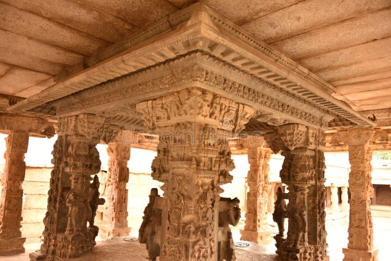 Someshwara Temple, Kolar, Karnataka, INdia. 14th century Vijayanagara era Dravidian style temple royalty free stock photo