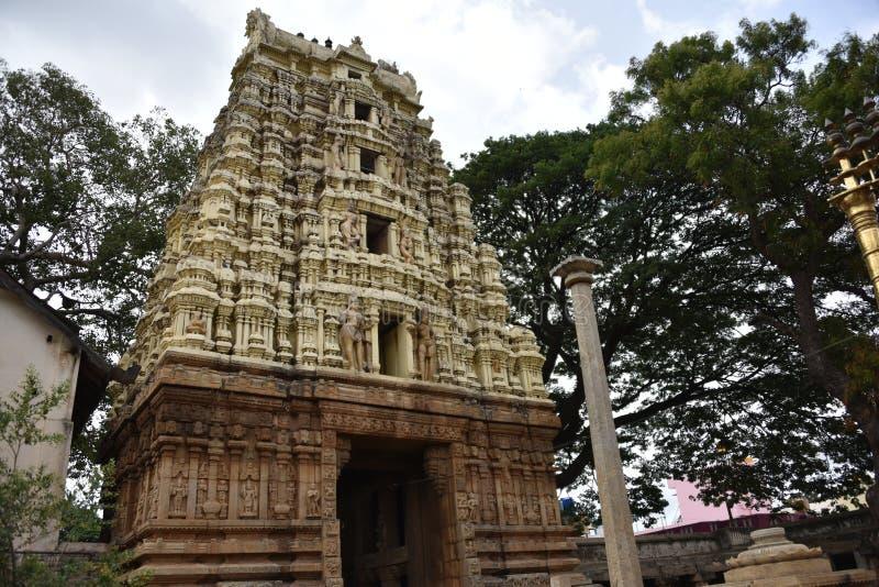 Someshwara Temple, Kolar, Karnataka, INdia. 14th century Vijayanagara era Dravidian style temple stock photos