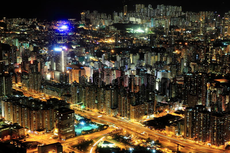 Somewhere In Kowloon Stock Photography