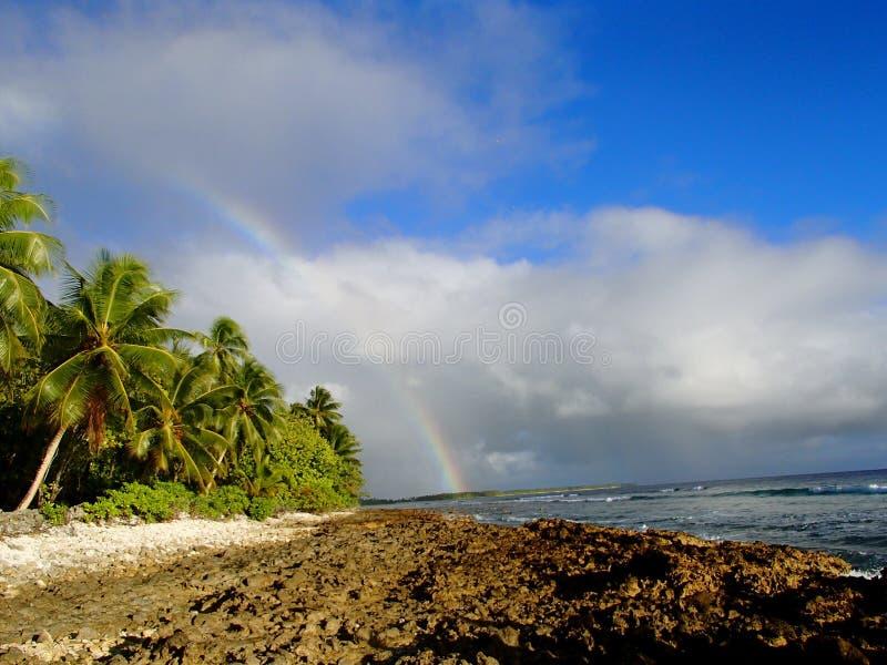 Somewhere over the rainbow royalty free stock photo