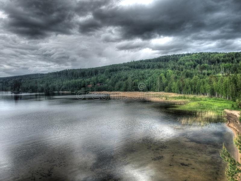 Somewhere in Sweden1 royalty free stock photography