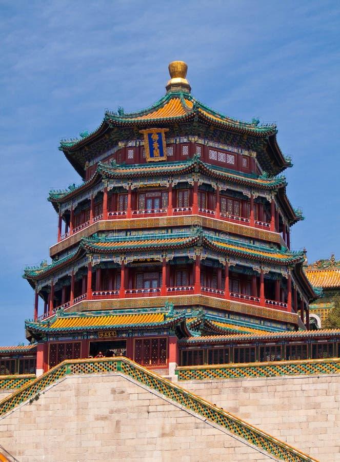 sommar för beijing porslinslott royaltyfri foto
