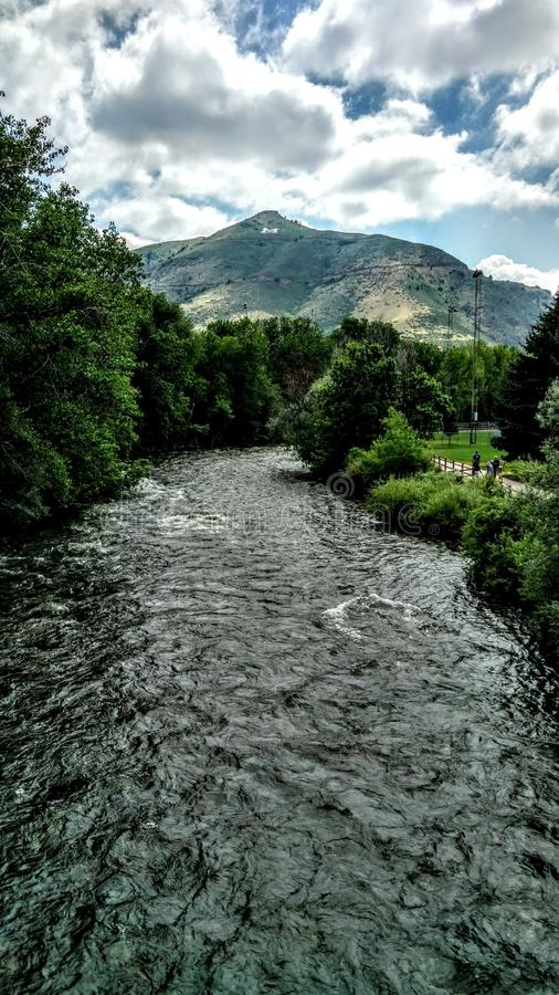 Sommar i Colorado arkivbilder