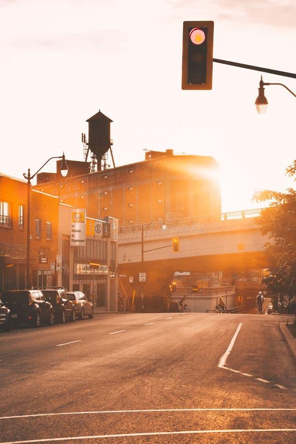 Sommar i Montreal - milslut arkivfoto