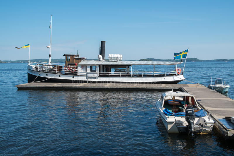 sommar sweden royaltyfria foton