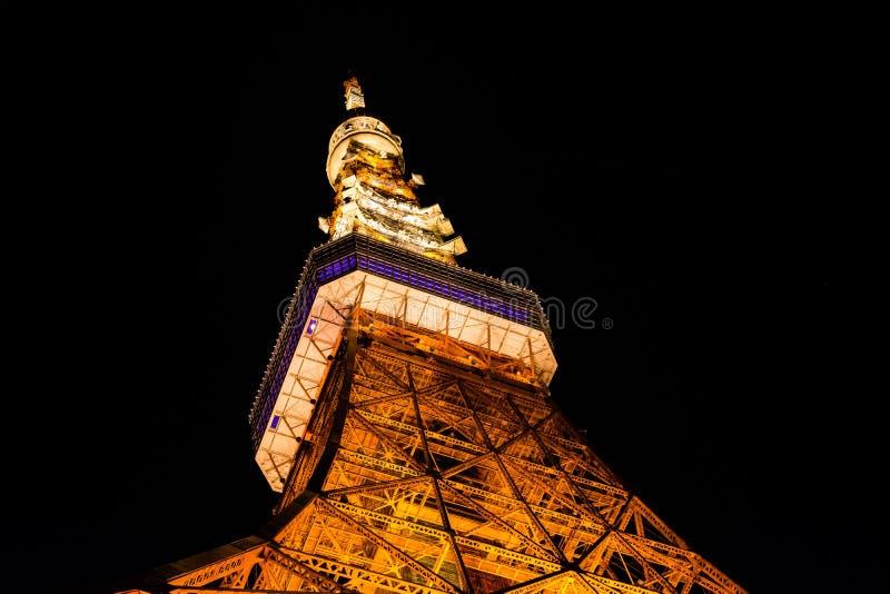 2011 sommar taget tokyo torn royaltyfri foto