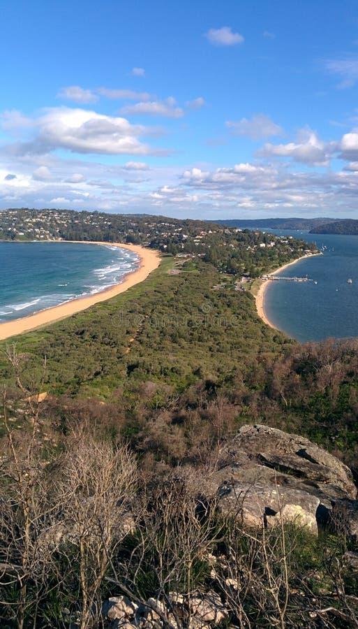 Sommarfjärd Australien arkivbilder