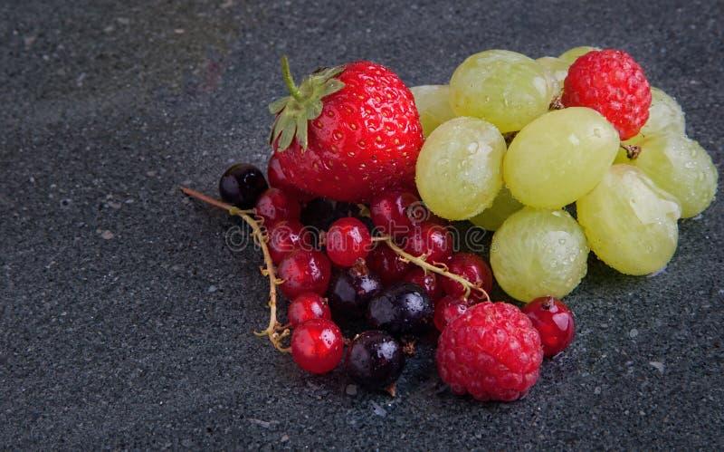 Sommarfrukter fotografering för bildbyråer
