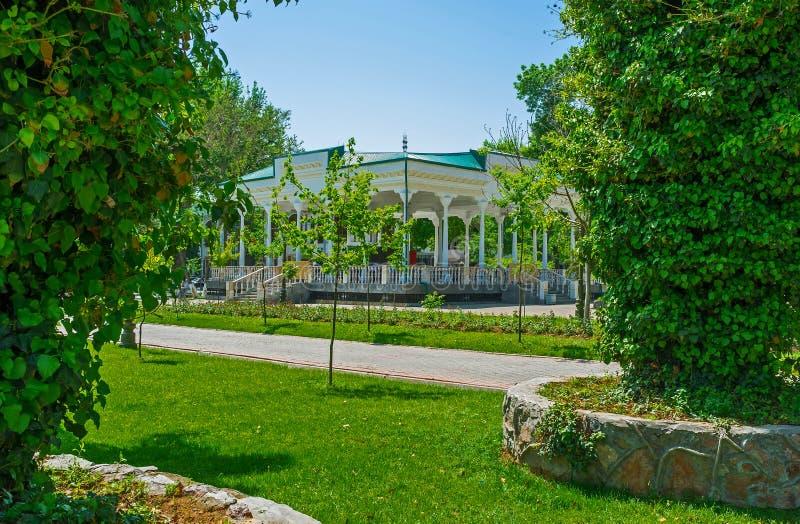 Sommarhuset arkivbild