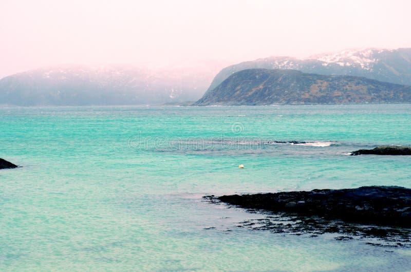 Sommaroy wyspa, Norwegia zdjęcie stock