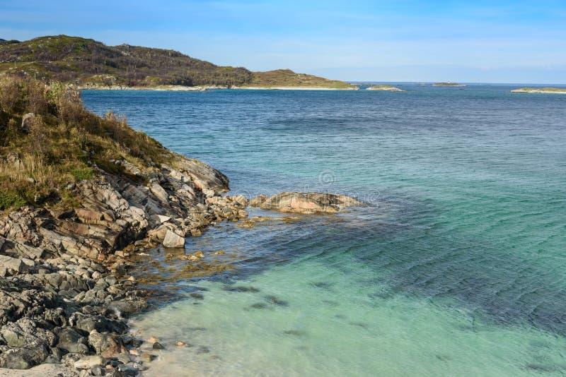 Sommaroy wyspa, Tromso, Norwegia, Scandinavia obraz royalty free