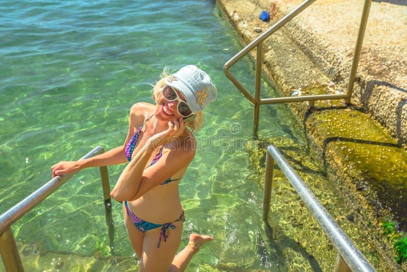 Sommarsemester Grekland arkivfoto