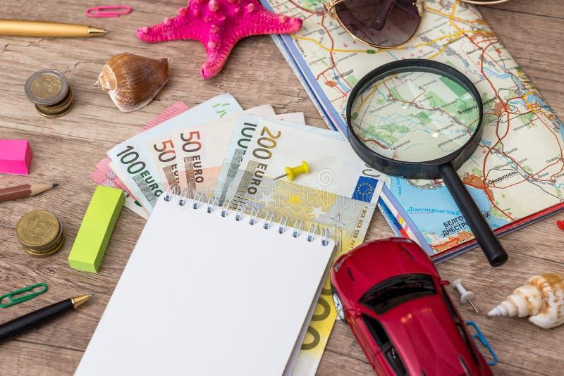 Sommarsemester, turismbegrepp arkivbild