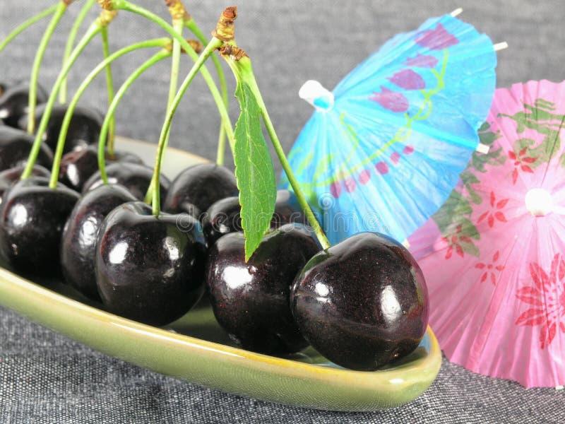 sommartid för svart Cherry royaltyfri bild