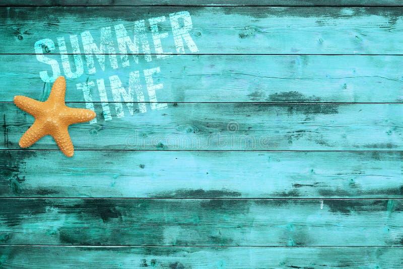 Sommartidbakgrund arkivbild