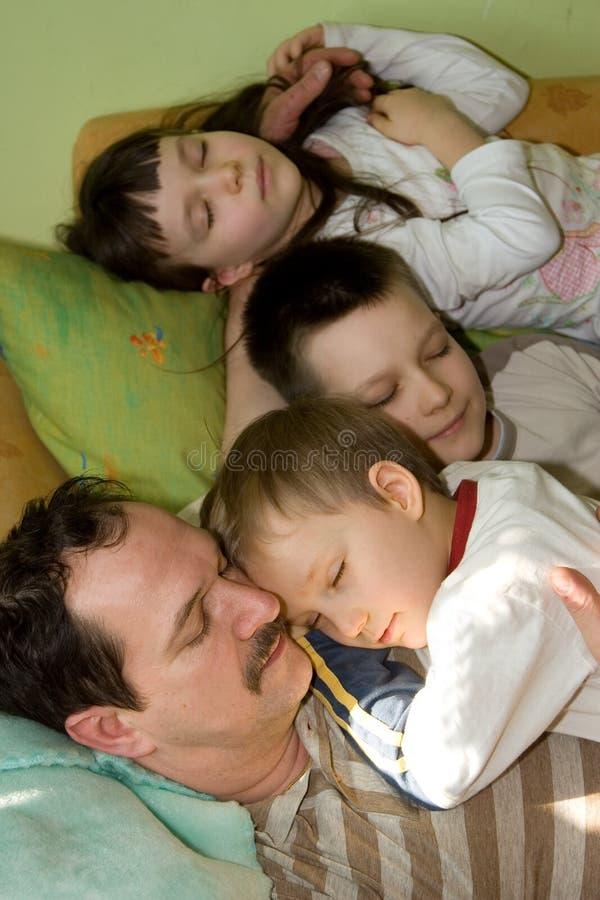 Somme de famille photos stock