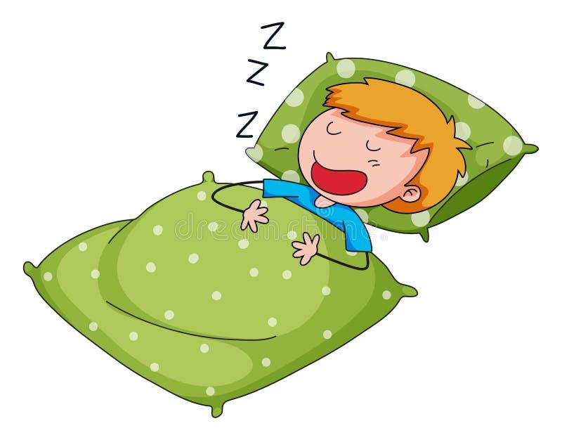 sommeil illustration de vecteur