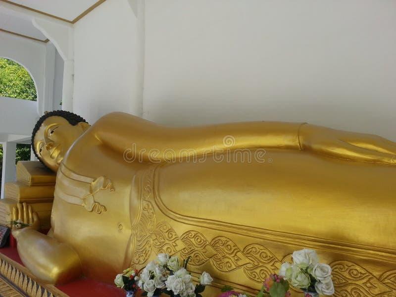 Sommeil de Budda photographie stock