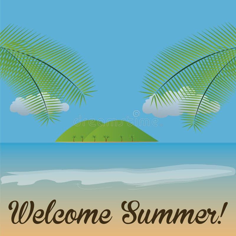 Sommer lizenzfreie abbildung