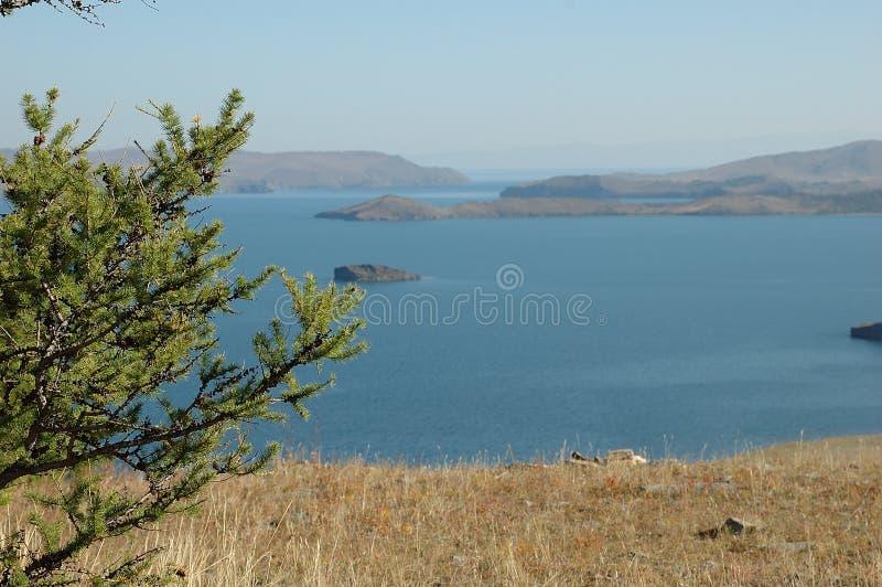 Sommer auf Baikal lizenzfreies stockbild