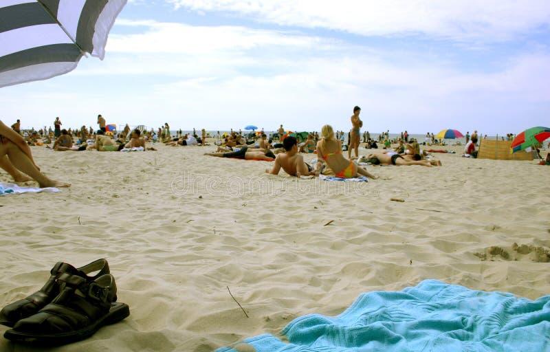 Sommer auf dem Strand stockbilder