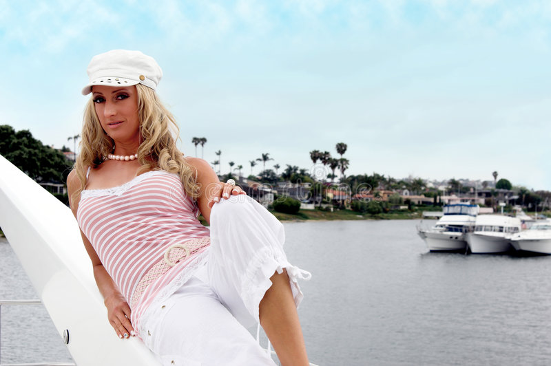 Sommer blond lizenzfreies stockfoto