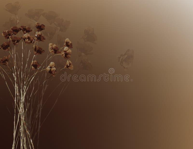 Sommer-Blumen lizenzfreie abbildung